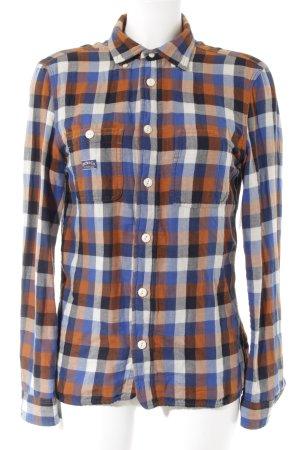 Diesel Houthakkershemd geruite print boyfriend stijl
