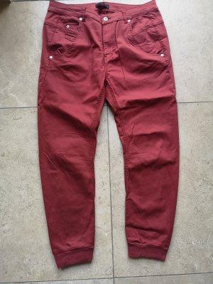 Diesel Hose Feine Jeans dunkelrot Gr 28 Fayza Stil