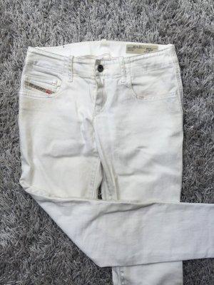 Diesel Hose, weiß-grau