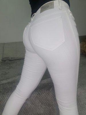 Diesel Hose weiß stretch