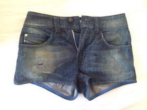 Diesel Hotpants im Destroyed Look - Jeans