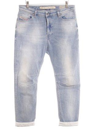 Diesel Lage taille broek azuur Jeans-look