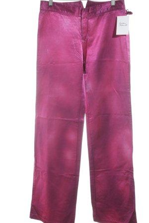 Diesel Pantalone a vita bassa magenta stile stravagante
