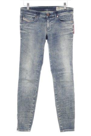 Diesel Jeans taille basse bleu style mode des rues