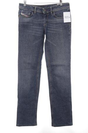 Diesel Hüftjeans dunkelblau Jeans-Optik