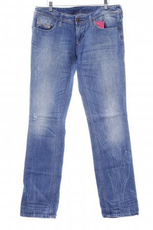 Diesel Hüftjeans kornblumenblau Jeans-Optik