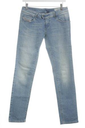 """Diesel Jeans vita bassa """"Nevy"""" azzurro"""