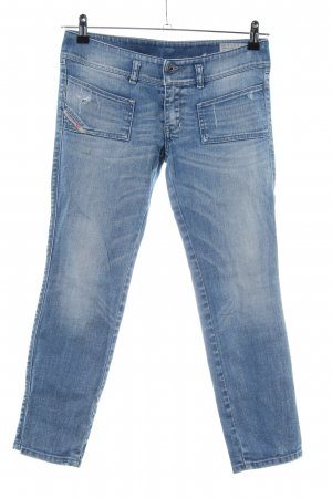 Diesel Industry 3/4 Length Jeans blue casual look