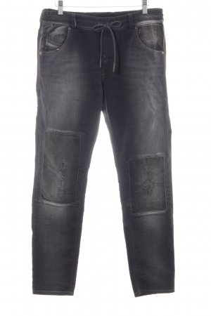 Diesel Industry Jeans larghi multicolore look pulito