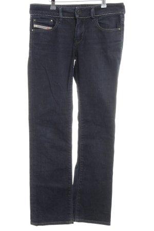 Diesel Industry Boot Cut Jeans blue casual look
