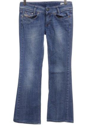 Diesel Industry Boot Cut Jeans blau 90ies-Stil