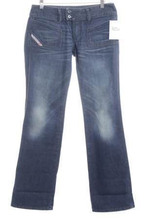 Diesel Industry Boot Cut Jeans dunkelblau Casual-Look