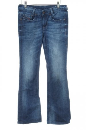 Diesel Industry Boot Cut Jeans dunkelblau Jeans-Optik