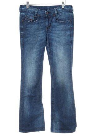 Diesel Industry Boot Cut Jeans dunkelblau Jeans-Optik