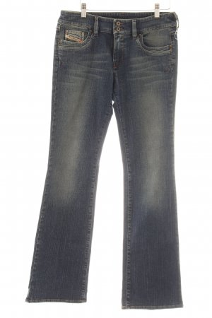 Diesel Industry Jeans bootcut gris ardoise-bleu pâle style Boho