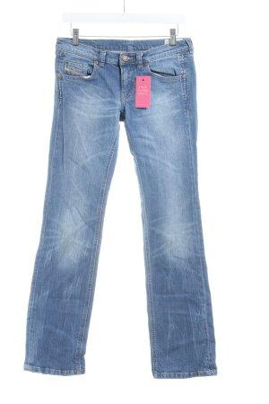 Diesel Industry Boot Cut Jeans kornblumenblau Casual-Look