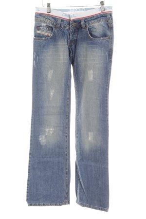 Diesel Industry Boot Cut Jeans mehrfarbig sportlicher Stil