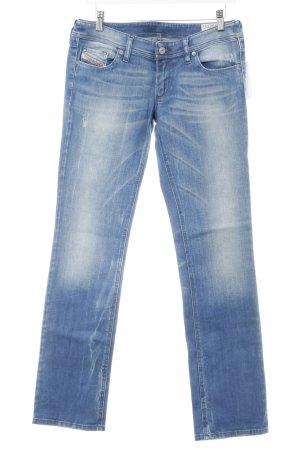 Diesel Industry Jeans bootcut bleu acier Aspect de jeans
