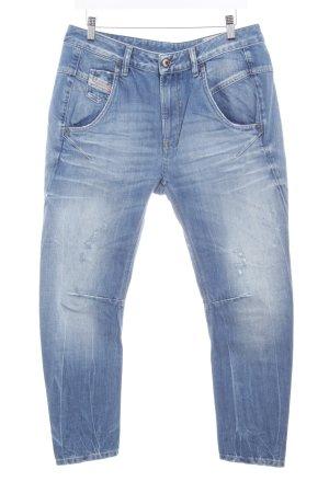 Diesel Industry Boyfriend jeans staalblauw tweedehandse uitstraling