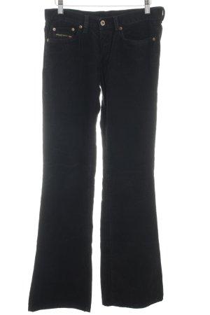Diesel Industry Corduroy Trousers black casual look