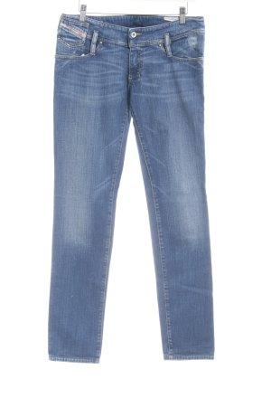 Diesel Industry Hüfthose kornblumenblau Jeans-Optik