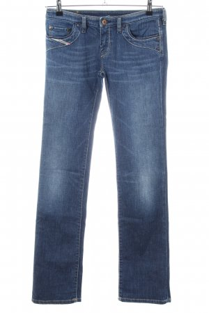 Diesel Industry Low Rise jeans blauw casual uitstraling