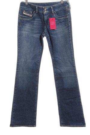 Diesel Industry Low Rise Jeans dark blue casual look