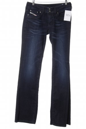 Diesel Industry Low Rise jeans donkerblauw casual uitstraling
