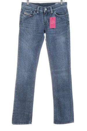 Diesel Industry Hüftjeans dunkelblau Jeans-Optik