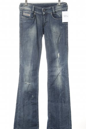 Diesel Industry Low Rise jeans leigrijs Jeans-look