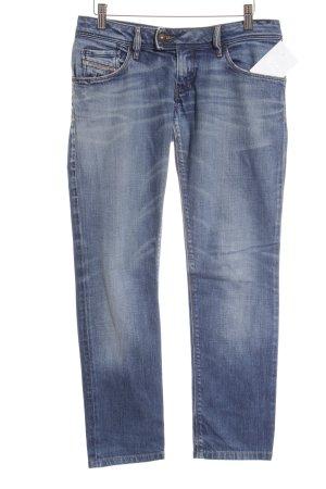 "Diesel Industry Jeans vita bassa ""Nevy"" blu acciaio"
