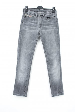 Diesel Industry Hoge taille jeans grijs-lichtgrijs