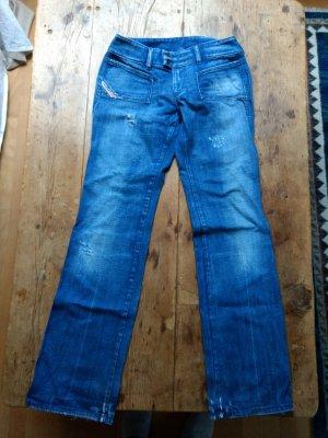 Diesel Industry Jeans boyfriend azzurro Cotone