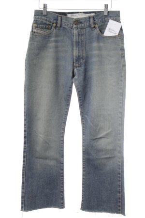Diesel Industry Jeans flare bleu pâle style rétro