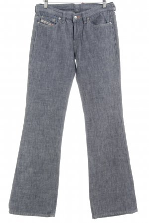 Diesel Industry Denim Flares blue flecked casual look