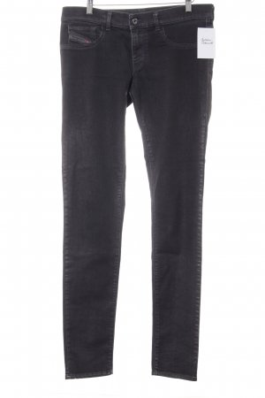 Diesel Industry Jeggings braunviolett Casual-Look