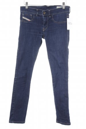 Diesel Industry Jeggings dunkelblau Casual-Look