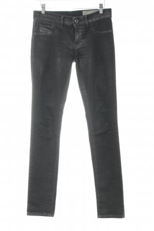 Diesel Industry Jeggings dunkelgrau Casual-Look