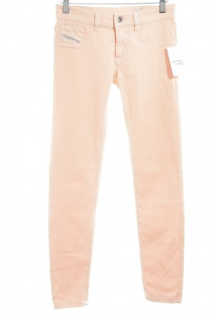 """Diesel Industry Jegging """"Livier-Ankle"""" abricot"""