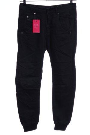 Diesel Industry Linen Pants black casual look
