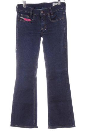 Diesel Industry Marlene jeans donkerblauw casual uitstraling