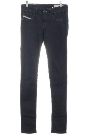Diesel Industry Röhrenjeans dunkelblau Jeans-Optik