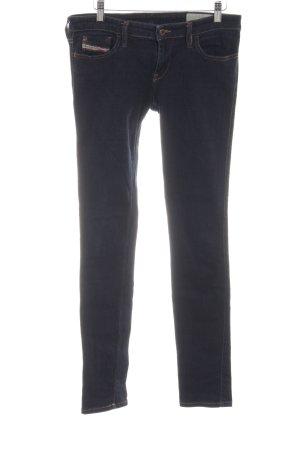 """Diesel Industry Skinny Jeans """"Skinzee-Low"""" blau"""