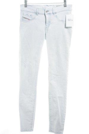 Diesel Industry Skinny Jeans blassblau Street-Fashion-Look