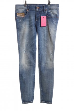Diesel Industry Skinny Jeans blau Casual-Look