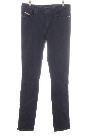 Diesel Industry Skinny Jeans dunkelblau Casual-Look