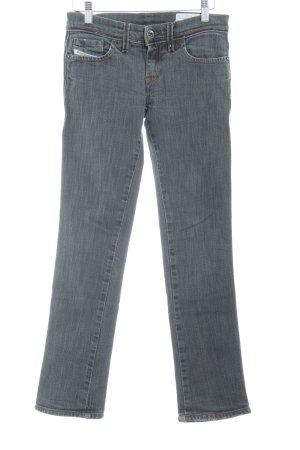 Diesel Industry Skinny Jeans dunkelgrau Casual-Look