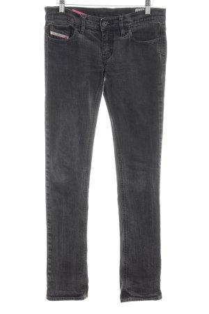 Diesel Industry Skinny Jeans dunkelgrau klassischer Stil