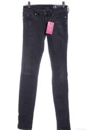 Diesel Industry Skinny Jeans grau-anthrazit Casual-Look