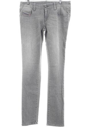 Diesel Industry Skinny Jeans graubraun Casual-Look